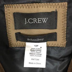 J. Crew Jackets & Coats - J. Crew Velvet Schoolboy Petite Blazer